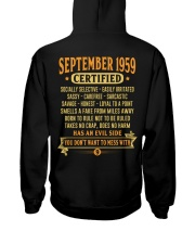MESS WITH YEAR 59-9 Hooded Sweatshirt back