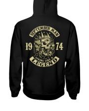 MAN 1974 09 Hooded Sweatshirt back
