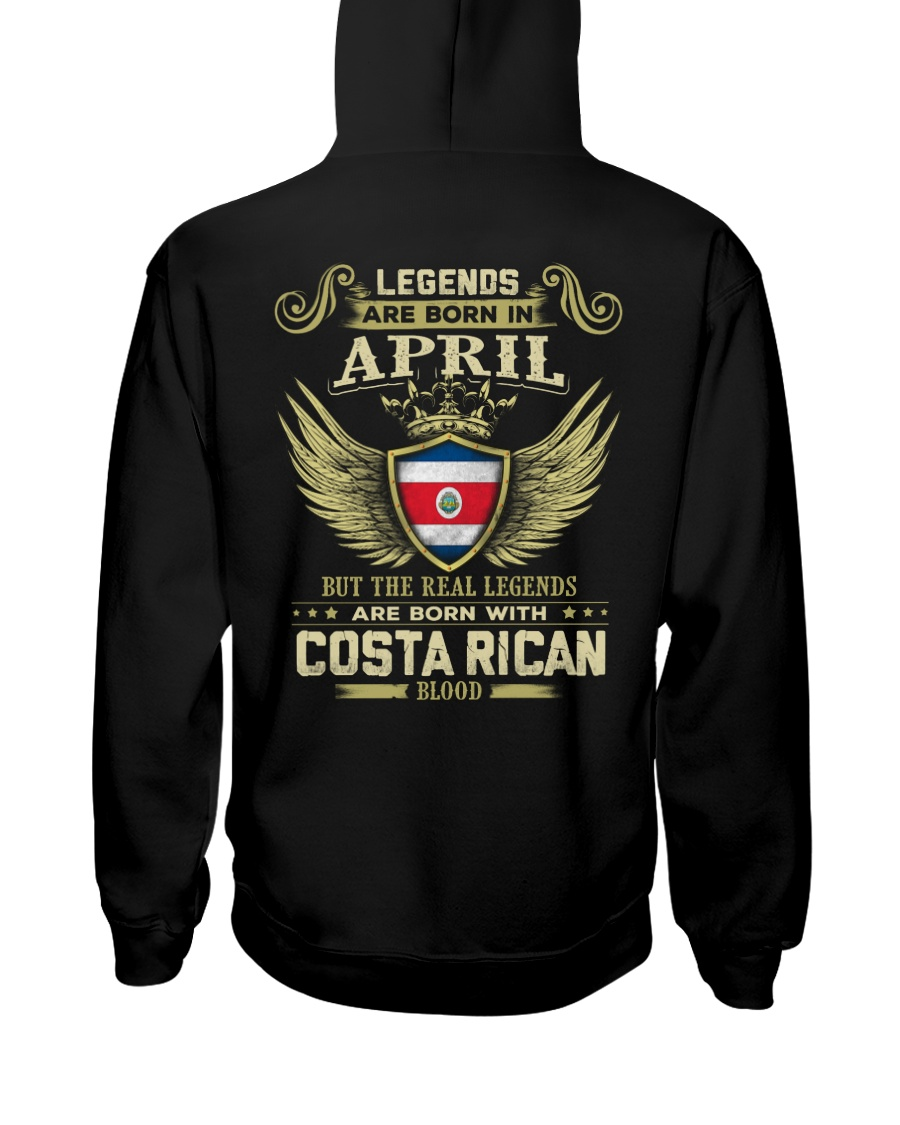 Blood Costa Rican 04 Hooded Sweatshirt