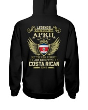 Blood Costa Rican 04 Hooded Sweatshirt back