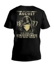 GOOD MAN 1977-8 V-Neck T-Shirt thumbnail