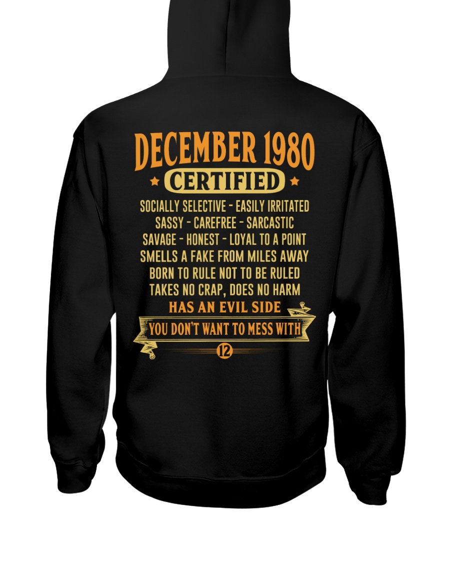 MESS WITH YEAR 80-12 Hooded Sweatshirt