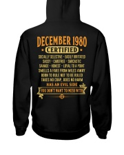 MESS WITH YEAR 80-12 Hooded Sweatshirt back