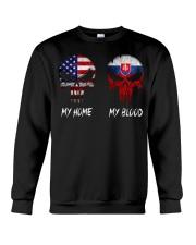 MY HOME SKULL Slovakia Crewneck Sweatshirt thumbnail