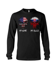 MY HOME SKULL Slovakia Long Sleeve Tee thumbnail