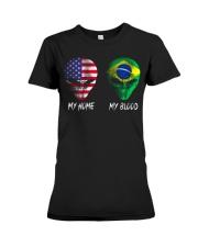 Brazil Premium Fit Ladies Tee thumbnail