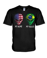 Brazil V-Neck T-Shirt thumbnail