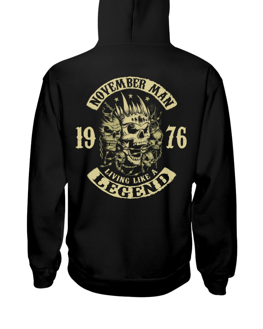 MAN 1976 011 Hooded Sweatshirt