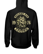 MAN 1976 011 Hooded Sweatshirt back