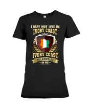 I MAY NOT IVORY COAST Premium Fit Ladies Tee thumbnail