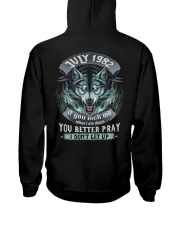 BETTER GUY 82-7 Hooded Sweatshirt back