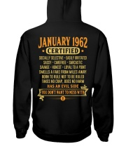 MESS WITH YEAR 62-1 Hooded Sweatshirt back