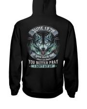 BETTER GUY 78-6 Hooded Sweatshirt back