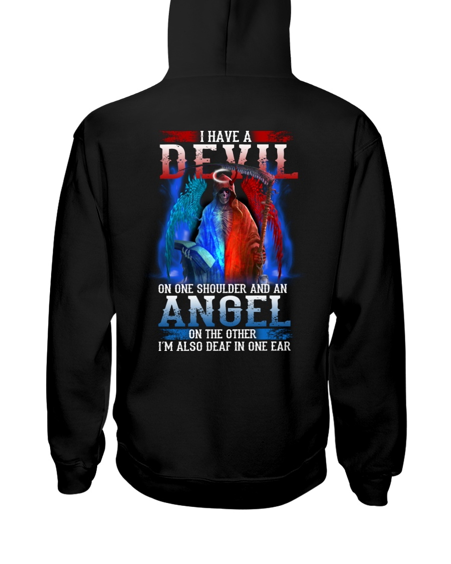 HAVE A DEVIL Hooded Sweatshirt