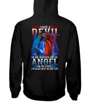 HAVE A DEVIL Hooded Sweatshirt back