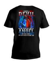 HAVE A DEVIL V-Neck T-Shirt thumbnail
