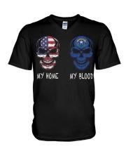 My Home America - Nevada V-Neck T-Shirt thumbnail