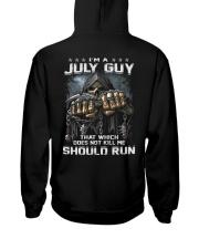 RUN 7 Hooded Sweatshirt back