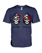 My Blood-Philippines V-Neck T-Shirt thumbnail