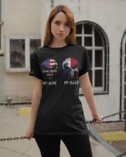 MY HOME SKULL Panama Classic T-Shirt apparel-classic-tshirt-lifestyle-19