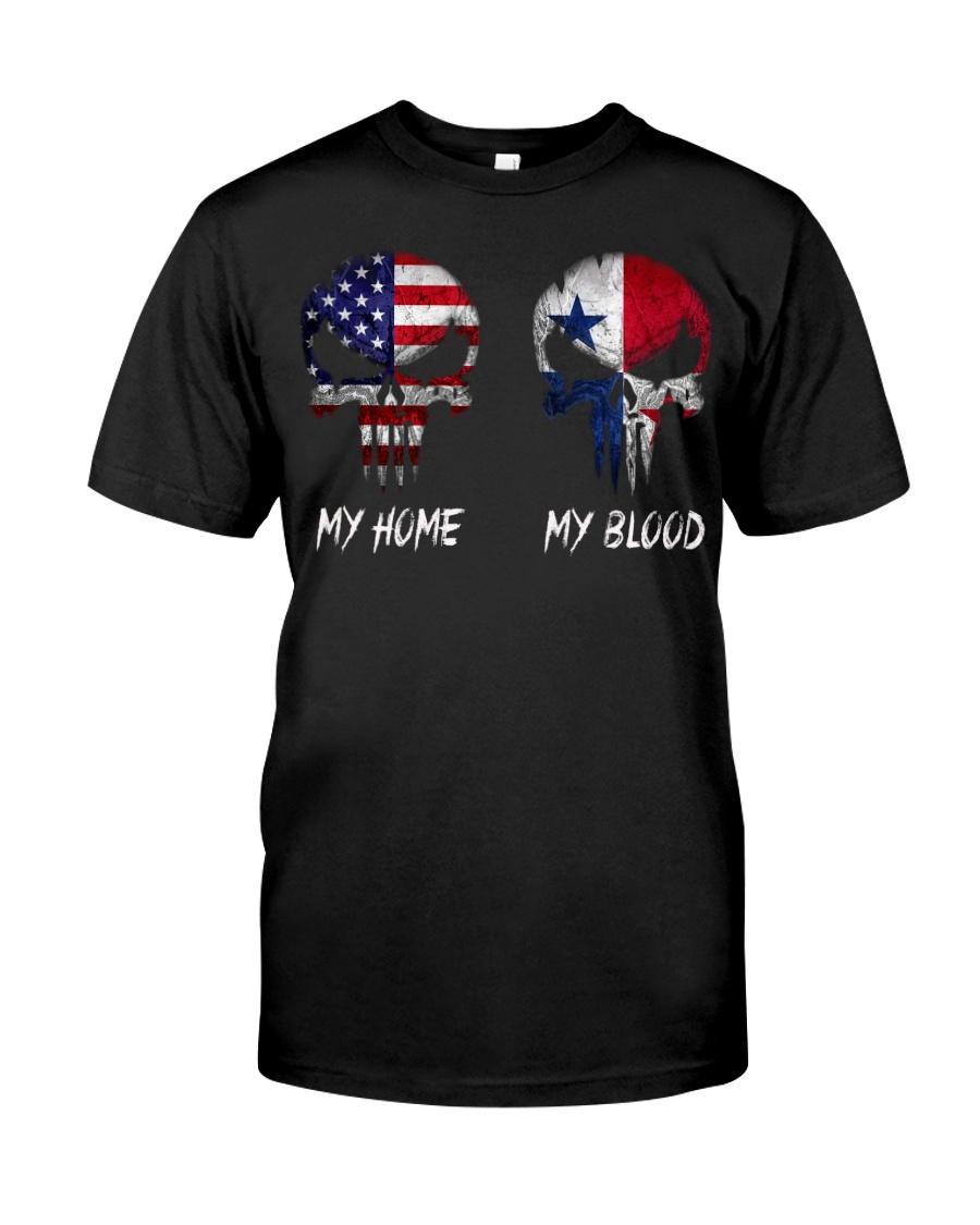 MY HOME SKULL Panama Classic T-Shirt