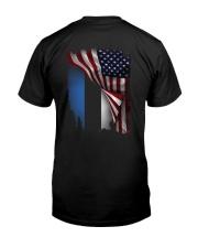 Flag-America-Estonia Classic T-Shirt thumbnail