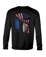 Flag-America-Estonia Crewneck Sweatshirt thumbnail