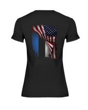 Flag-America-Estonia Premium Fit Ladies Tee thumbnail