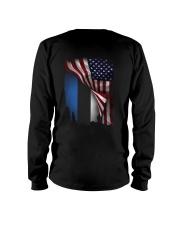 Flag-America-Estonia Long Sleeve Tee thumbnail