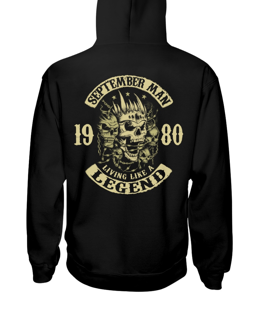 MAN 1980- 9 Hooded Sweatshirt