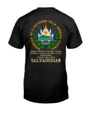 Awesome - Salvadorian Classic T-Shirt back