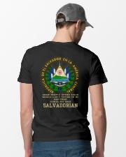 Awesome - Salvadorian Classic T-Shirt lifestyle-mens-crewneck-back-6