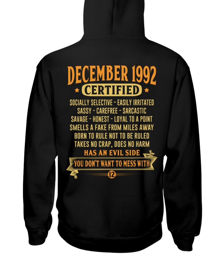MESS WITH YEAR 92-12 Hooded Sweatshirt