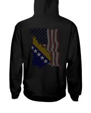 Bosnia Herzegovina Hooded Sweatshirt back