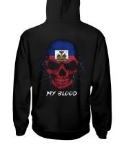 Haiti Hooded Sweatshirt back