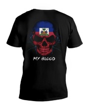 Haiti V-Neck T-Shirt thumbnail