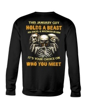 HOLDS A BEAST 1 Crewneck Sweatshirt thumbnail