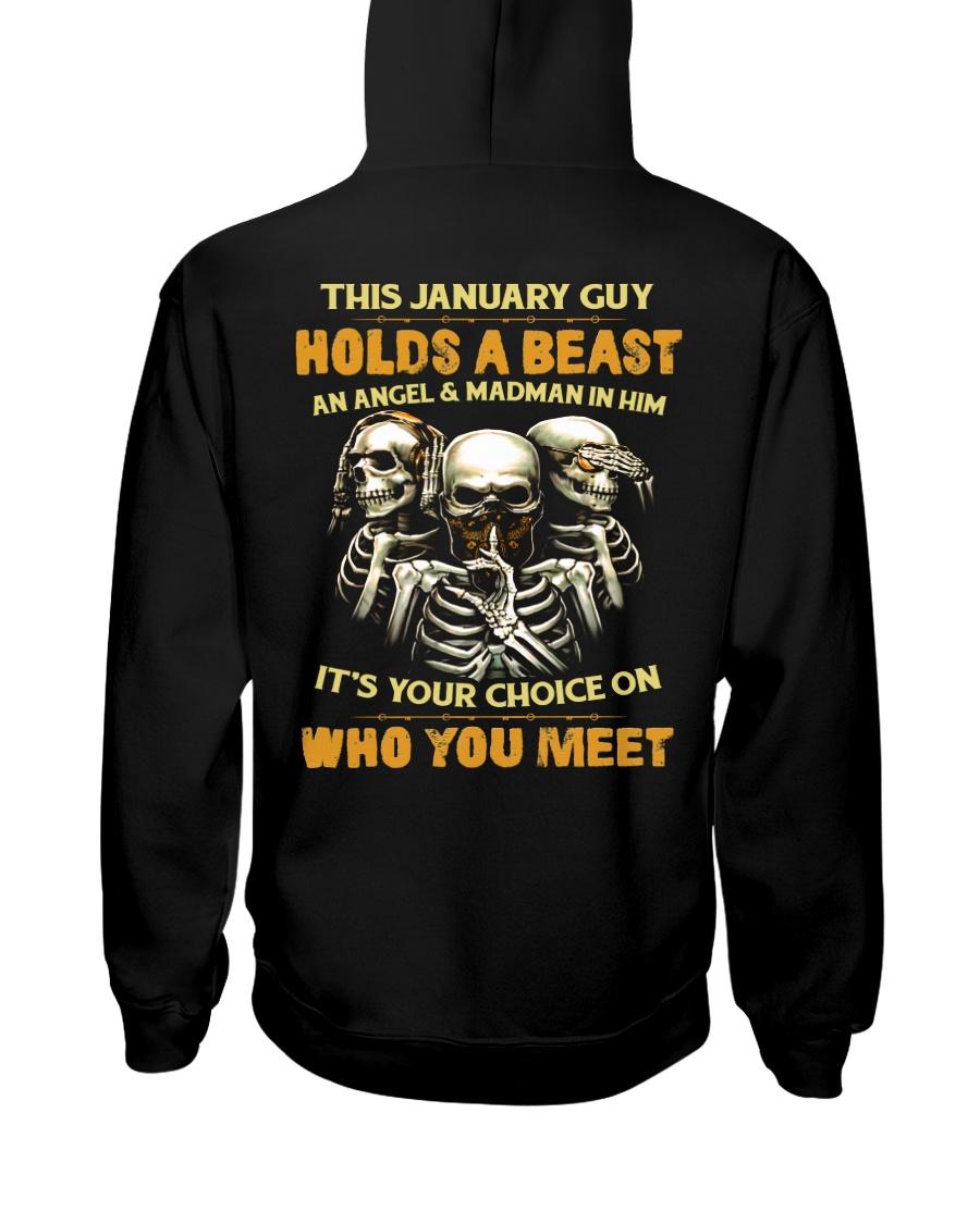 HOLDS A BEAST 1 Hooded Sweatshirt