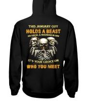HOLDS A BEAST 1 Hooded Sweatshirt back