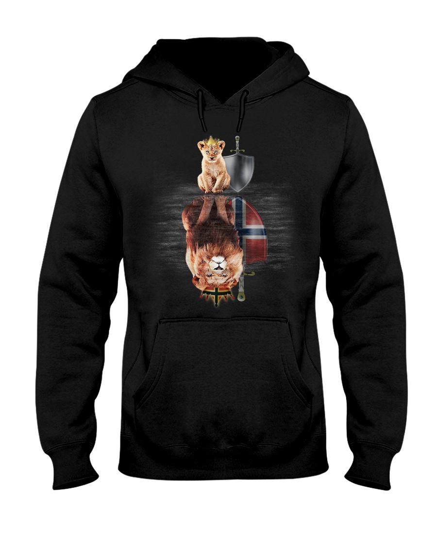 Lion-Norway Hooded Sweatshirt