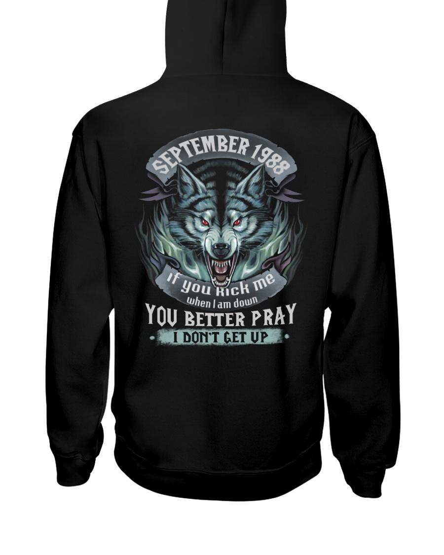 BETTER GUY 88-9 Hooded Sweatshirt