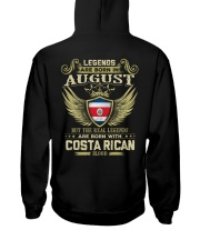 Blood Costa Rican 08 Hooded Sweatshirt back
