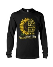 Sunflower Girl-Argentinian Long Sleeve Tee thumbnail
