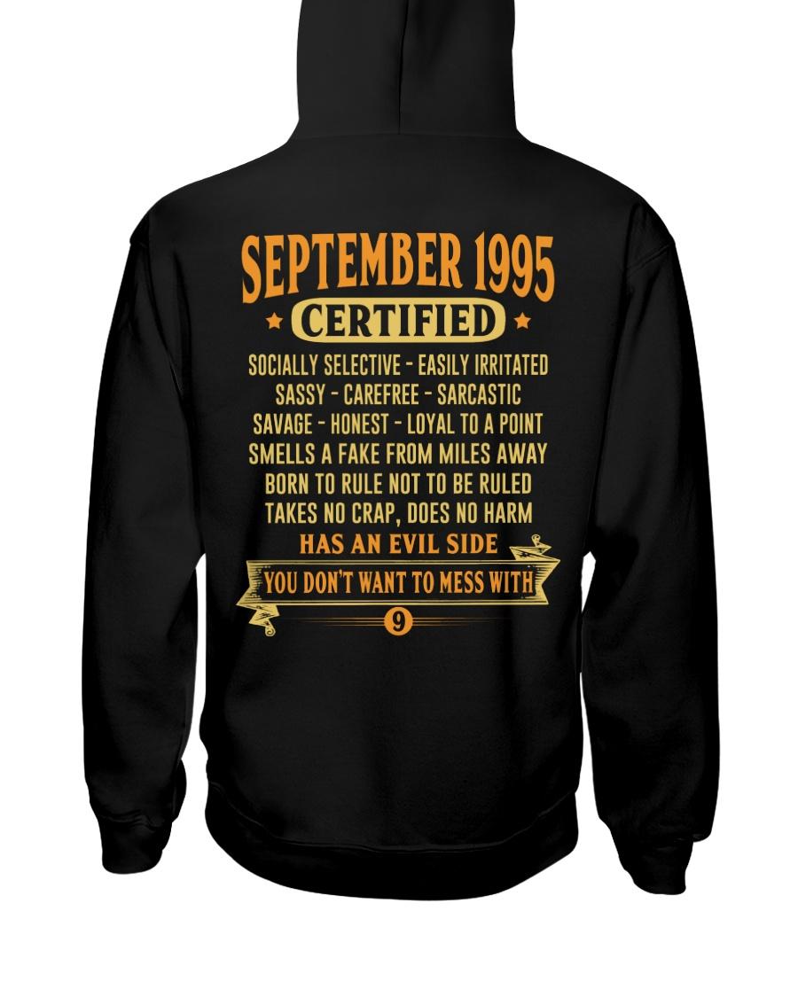 MESS WITH YEAR 95-9 Hooded Sweatshirt