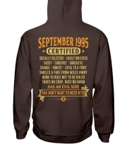 MESS WITH YEAR 95-9 Hooded Sweatshirt back