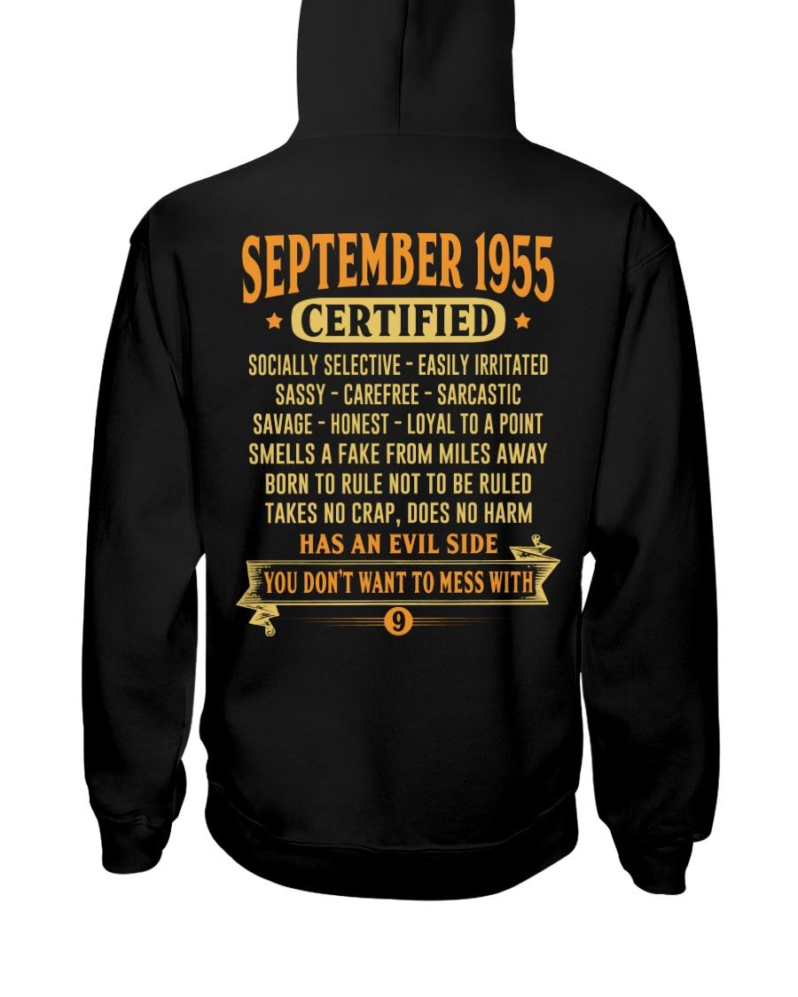 MESS WITH YEAR 55-9 Hooded Sweatshirt