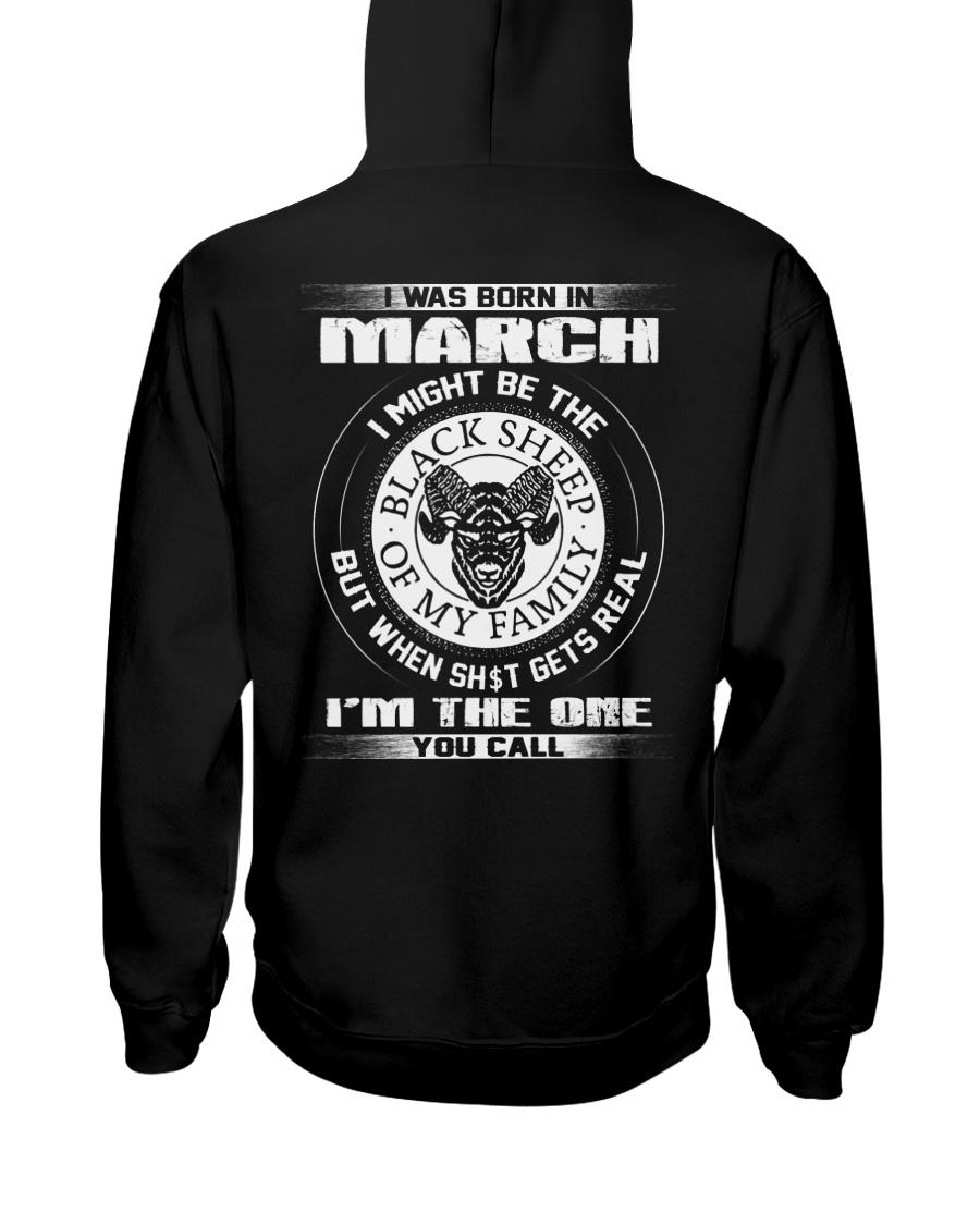 BLACK SHEEP 3 Hooded Sweatshirt