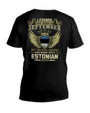 Legends - Estonian 09 V-Neck T-Shirt thumbnail