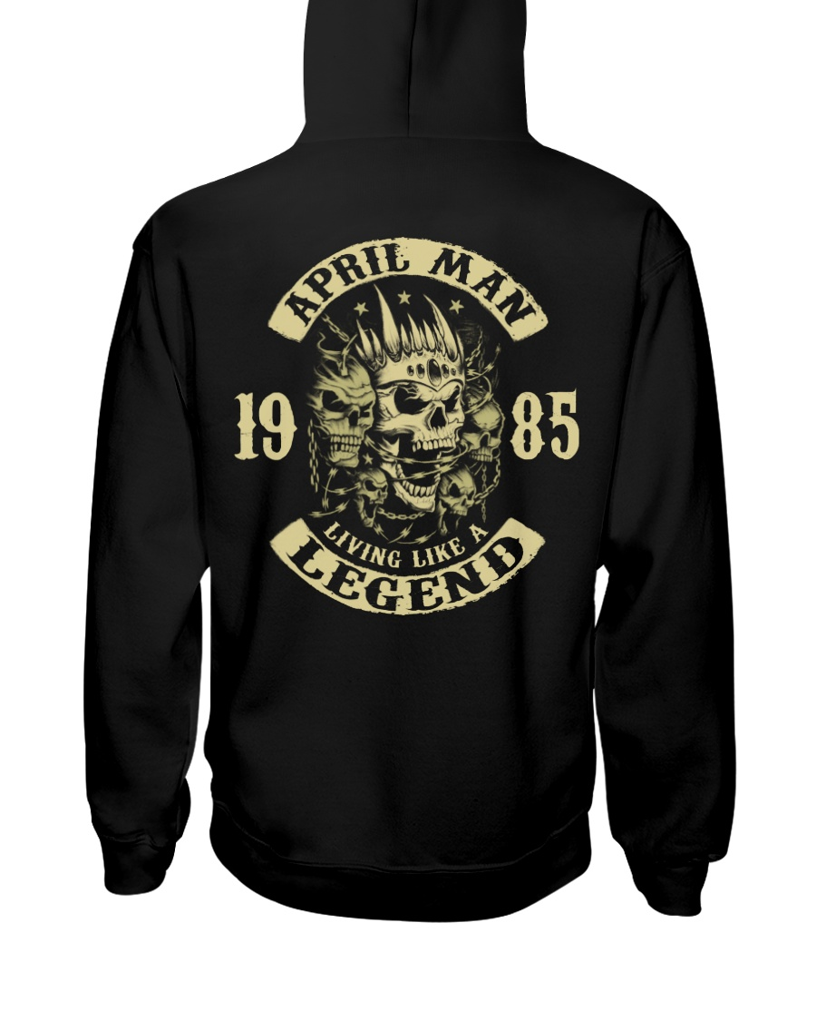 MAN 1985-4 Hooded Sweatshirt