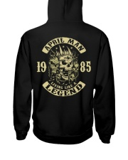 MAN 1985-4 Hooded Sweatshirt back